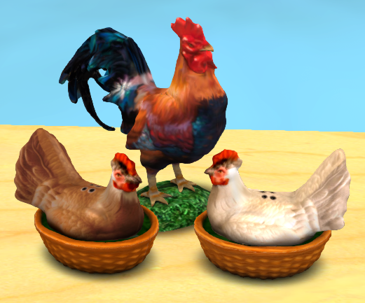 rooster-and-chickens